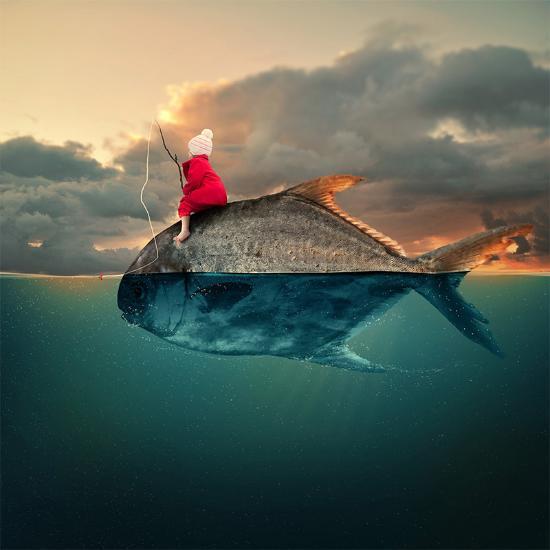 Surrealistiska Fotokollage Gjorda I Photoshop Blog