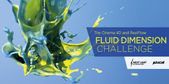 Cinema 4D & RealFlow Fluid Dimension Challenge - Blog - Creative