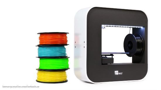 Nu kan du använda BEETHEFIRST 3D-skrivaren med Simplify och Cura