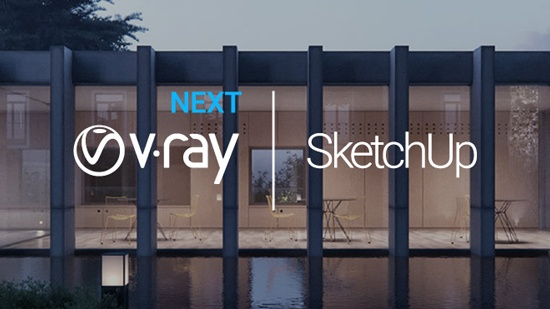 V-Ray Next for SketchUp – ute nu!
