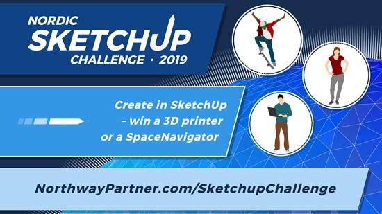 Nordic SketchUp Challenge 2019 i full gång! Tävlingen utmanar elever och  studenter att designa en skolgård 0f0bf31b2a0c0