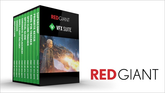 VFX Suite – ny kollektion från Red Giant - Blog - Creative