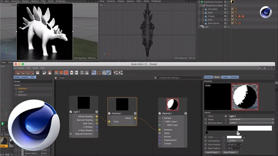 Cel shader med Node Materials i Cinema 4D - Blog - Creative