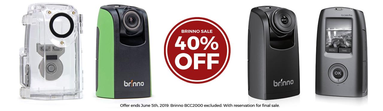 Brinno Sale Spring 2019