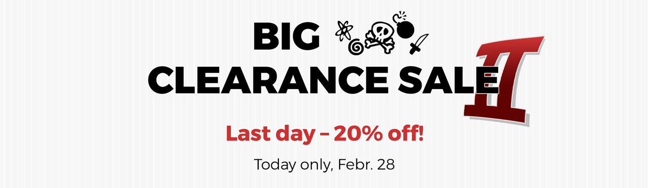 Big clearance sale II