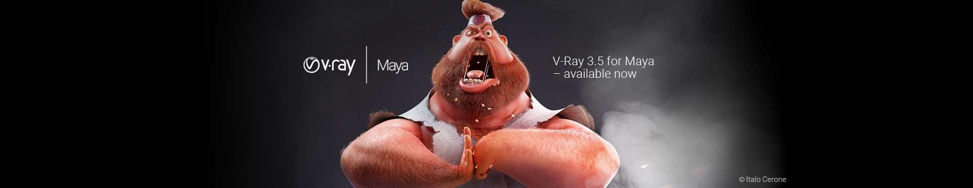V-Ray 3.5 for Maya