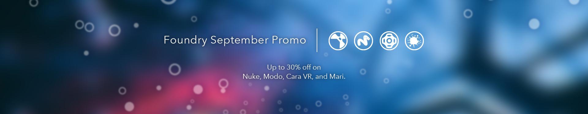 Foundry September Promo