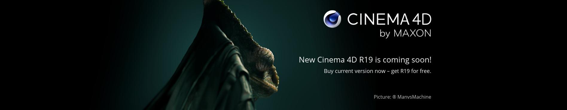 MAXON Cinema 4D R19 kommer snart