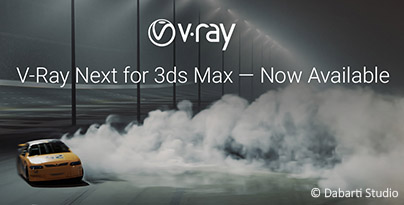V-Ray Next for 3ds Max here!