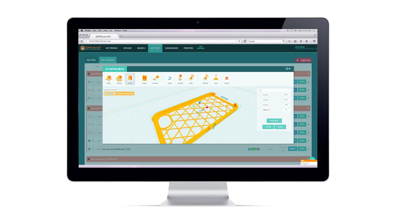 3dprinteros Cloud 3d Printer Management Premium