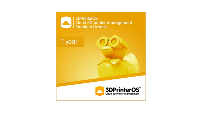 3DPrinterOS - Cloud 3D Printer Management - Premium Licence (One Year) + EasyBox