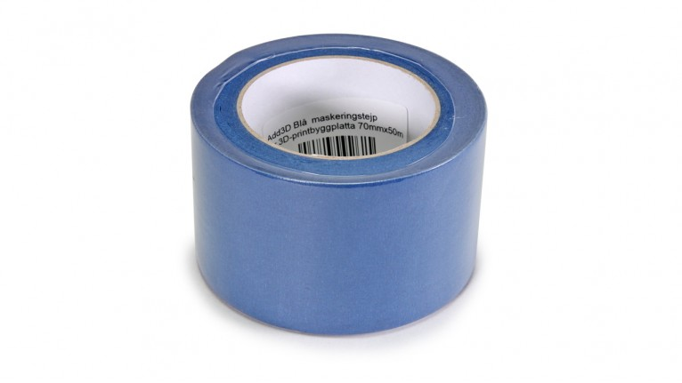 Add3D - Blue masking tape for 3D printer build platforms - 70 mm x 50 m