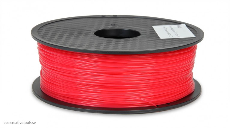 ECO - PLA Temperature dependent Red->Transparent - 1.75 mm