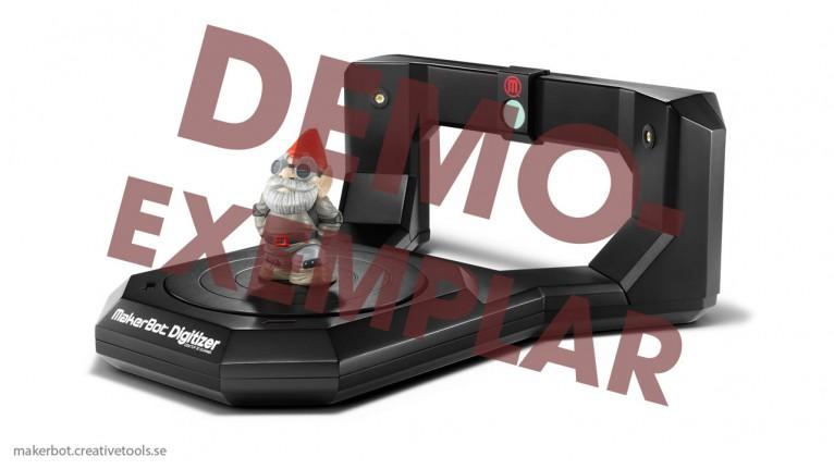 Demo - MakerBot - Digitizer