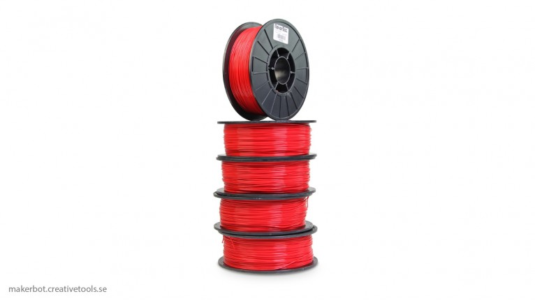 MakerBot - PLA - True Red - 1.75 mm (5-pack)