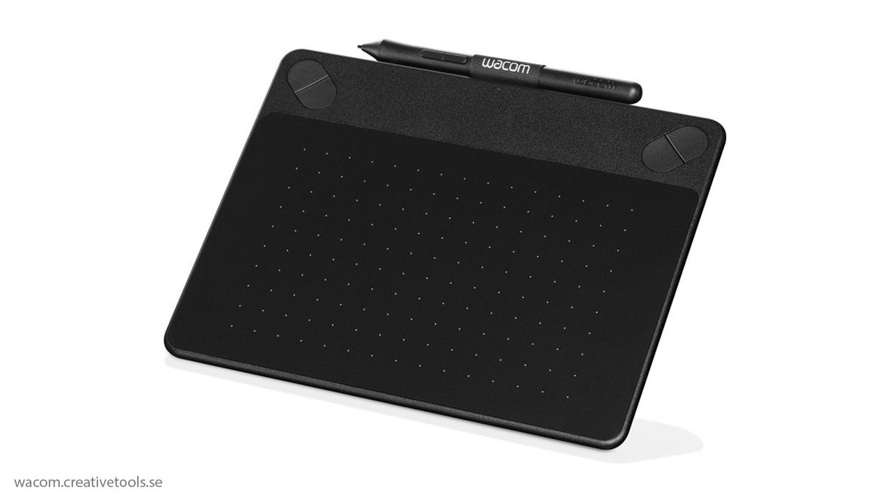 wacom intuos small photo black pen touch tablette graphique noir. Black Bedroom Furniture Sets. Home Design Ideas