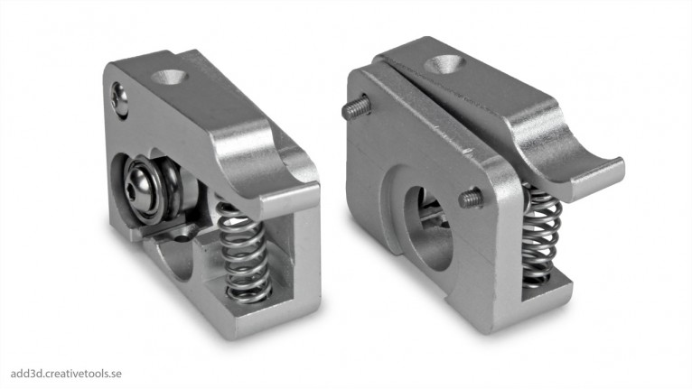ADD3D - Aluminium Drive Block - Right and left