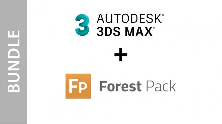 Autodesk 3ds Max + Forest Pack - Bundle