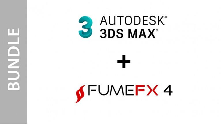 Autodesk 3ds Max + FumeFX for Max - Bundle
