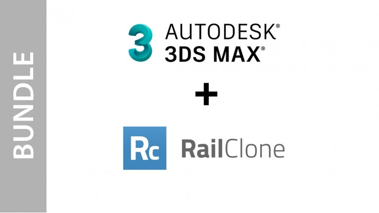 Autodesk 3ds Max + RailClone - Bundle
