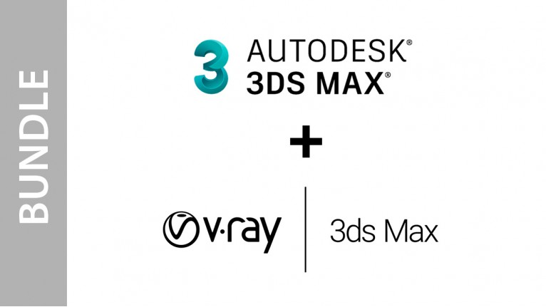 Autodesk 3ds Max + V-Ray Next for 3ds Max - Bundle