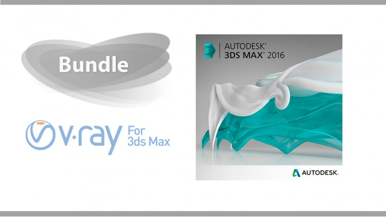 Autodesk 3ds Max + V-Ray for 3ds Max - Bundle