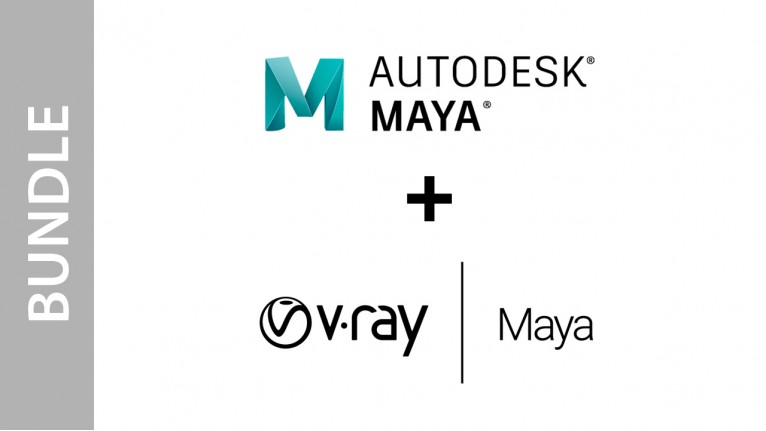 Autodesk Maya + V-Ray for Maya - Bundle