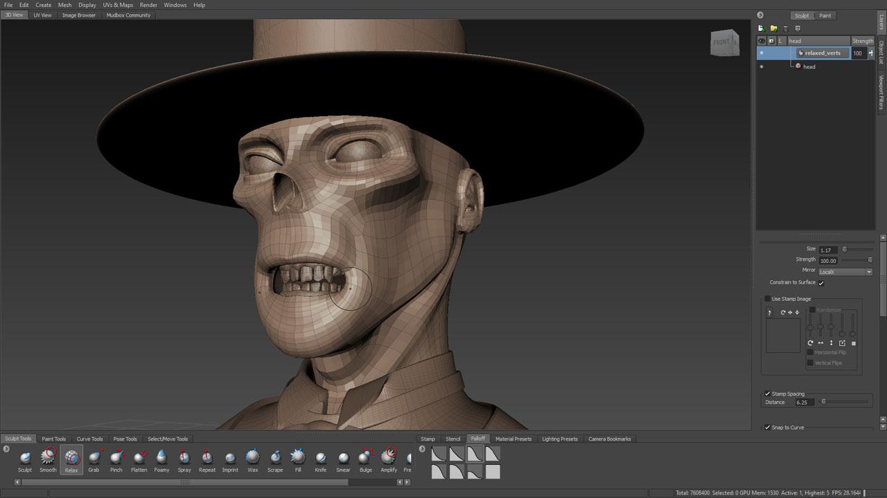Resultado de imagen de Autodesk Mudbox 2018