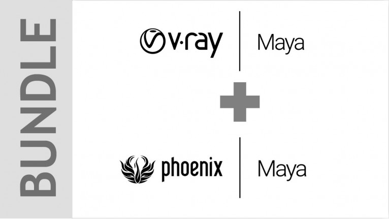 Chaos Group - V-Ray 3.x for Maya + Phoenix FD Bundle