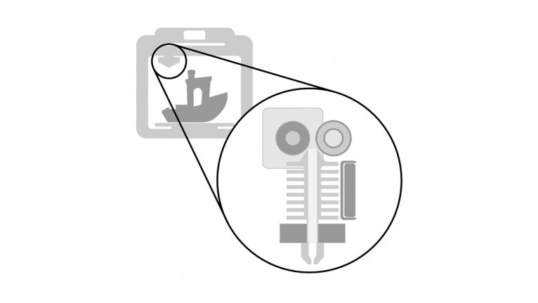 Maintenance of 3D printer - Repair of extruder (FFF)