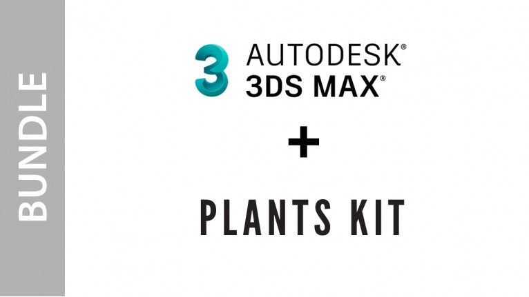 Autodesk 3ds Max + Plants Kit