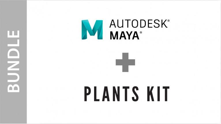 Autodesk Maya + Plants Kit