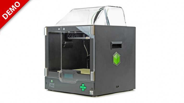 Demo - Magicfirm - ZYYX 3D-printer