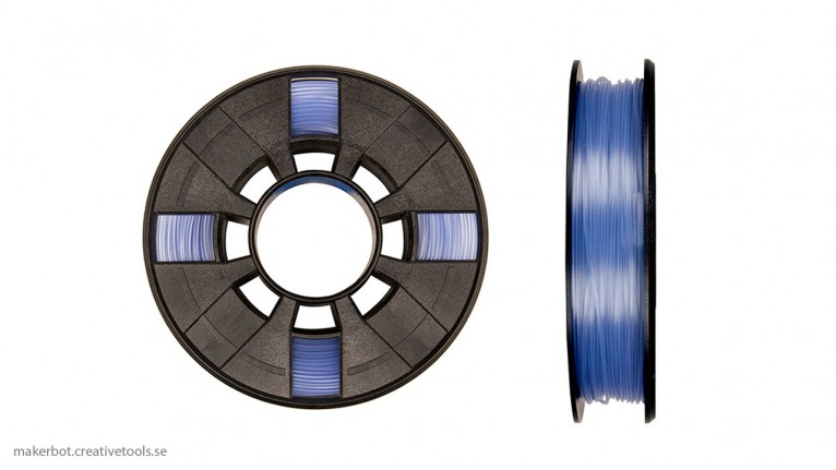 MakerBot - PLA Translucent - 1.75 mm - Small Spool