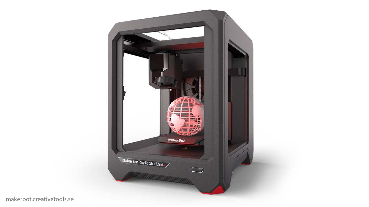 Makerbot Replicator  Build Volume