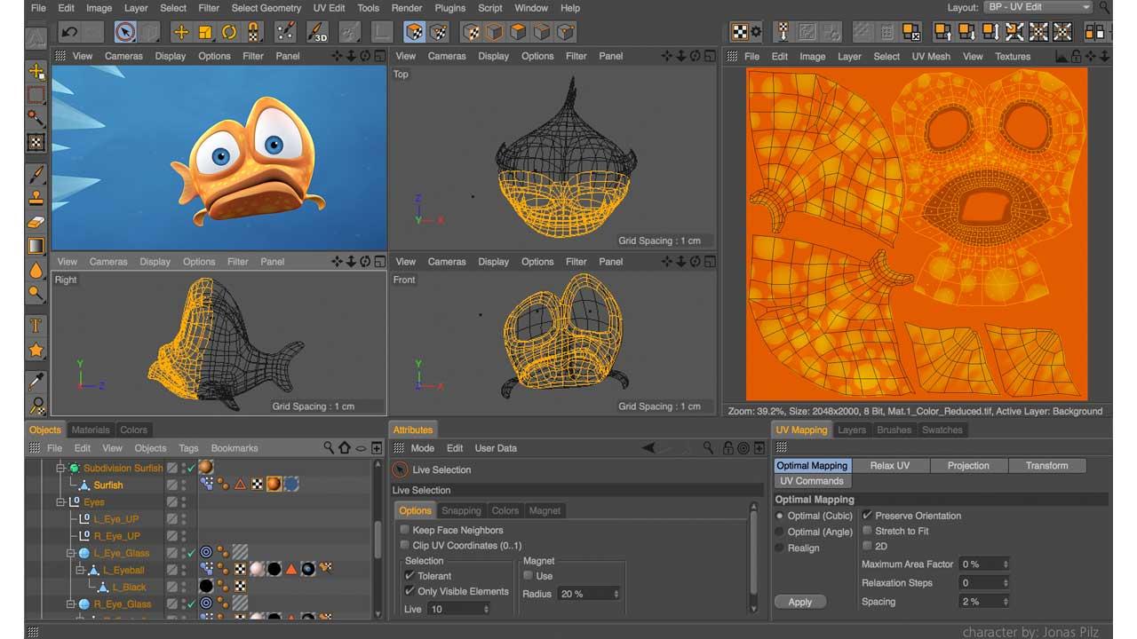 MAXON - BodyPaint 3D R18 - Full license