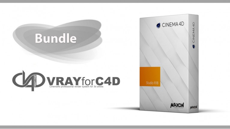 Cinema 4D Studio R18 + V-Ray for Cinema 4D