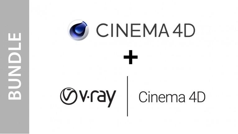 Cinema 4D Studio + V-Ray for Cinema 4D Bundle