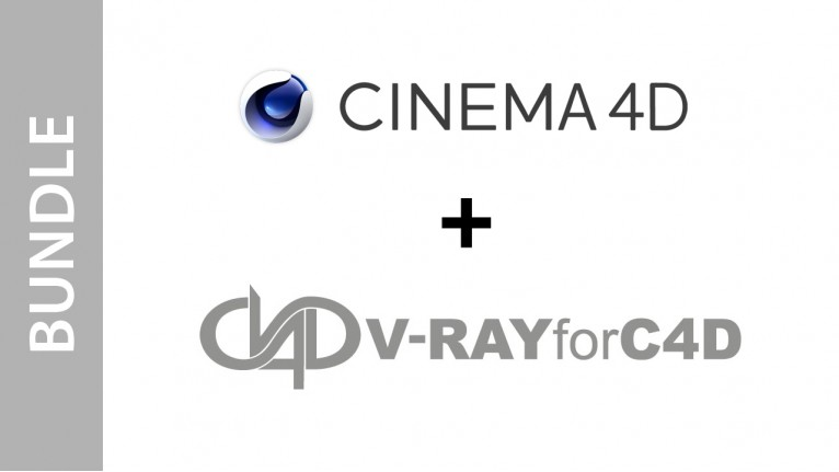 Cinema 4D Studio + V-RAYforC4D Bundle