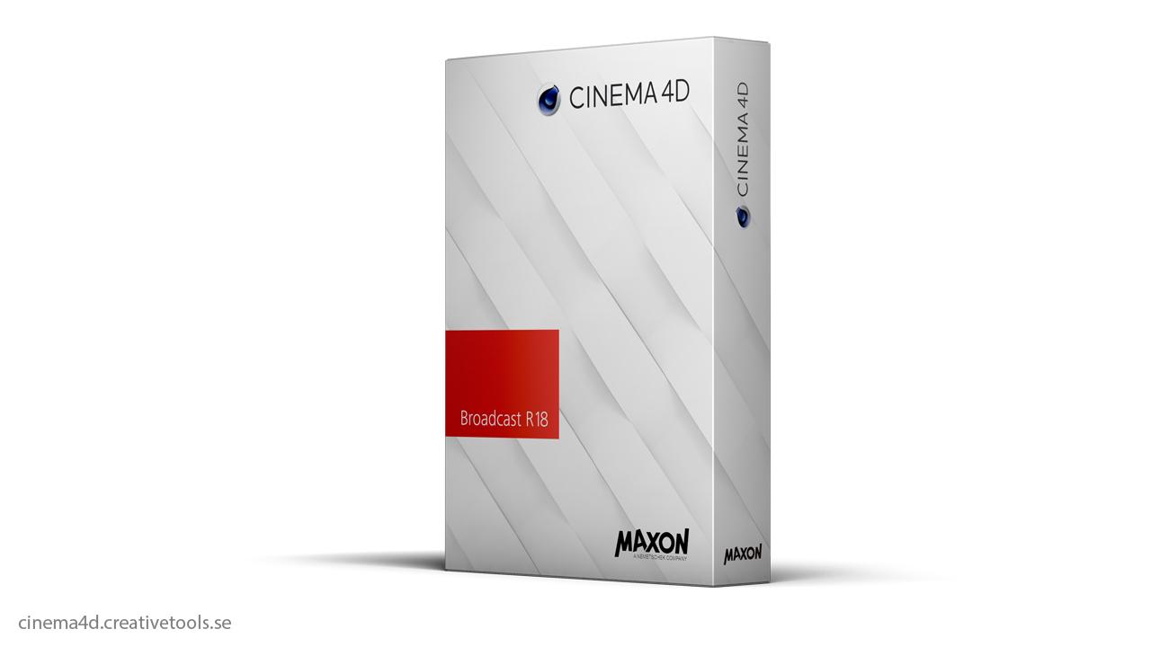 maxon cinema 4d broadcast r18. Black Bedroom Furniture Sets. Home Design Ideas