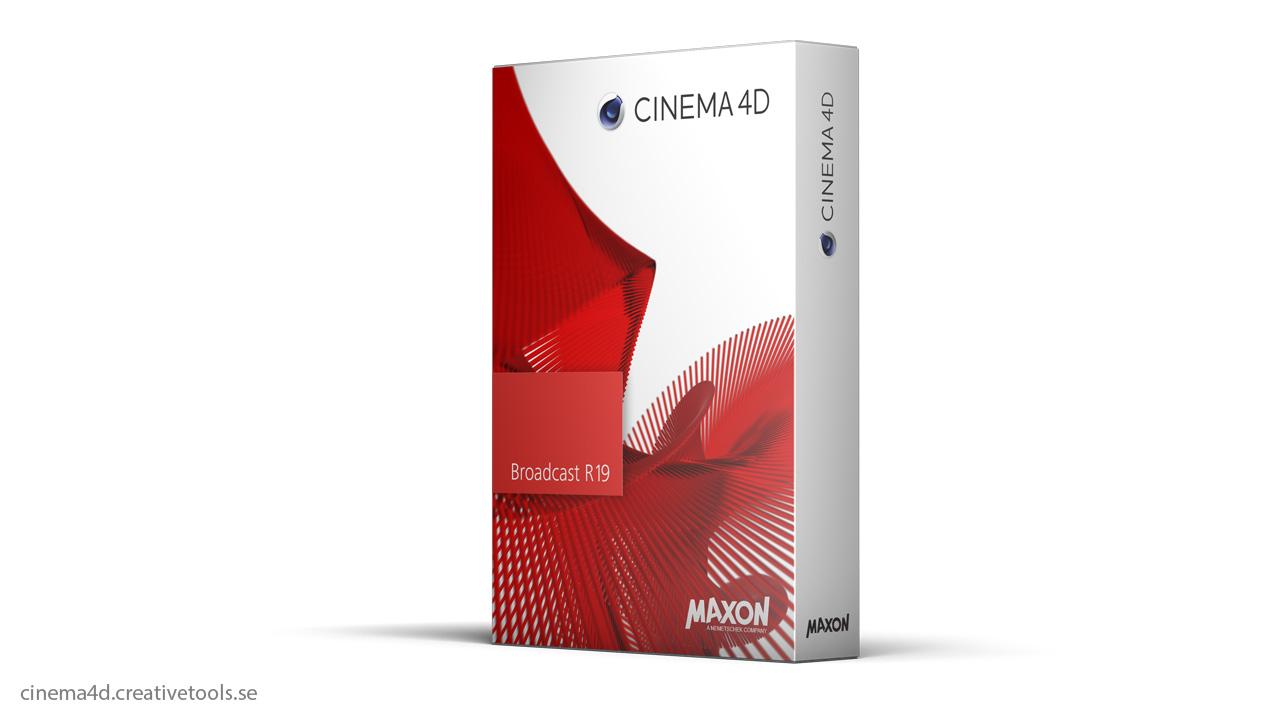 maxon upgrade to cinema 4d broadcast r19. Black Bedroom Furniture Sets. Home Design Ideas