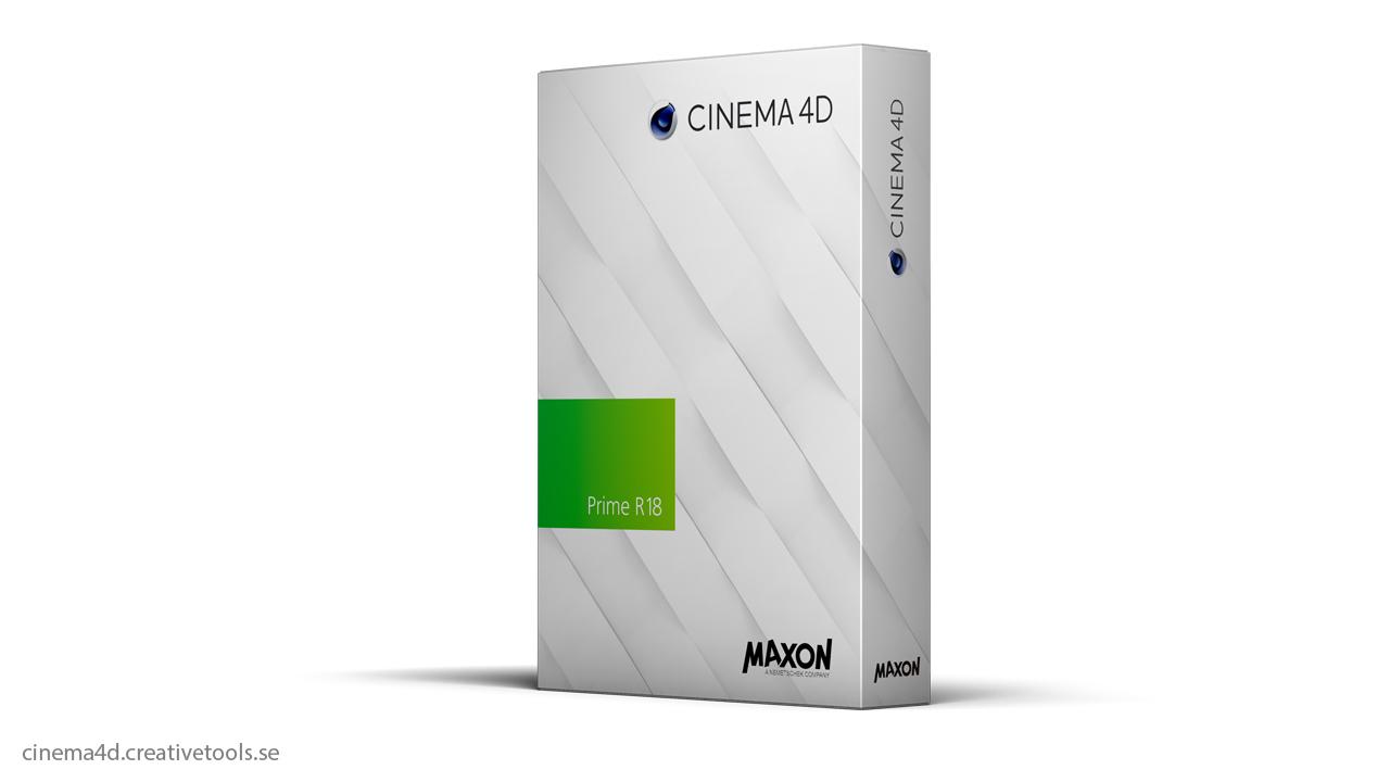 maxon cinema 4d prime r18 upgrade. Black Bedroom Furniture Sets. Home Design Ideas