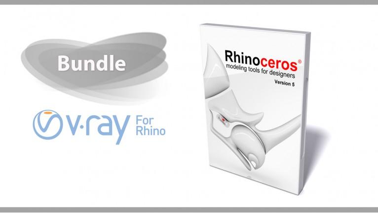 Rhino 5.0 Single User + V-Ray 2.0 for Rhino Bundle