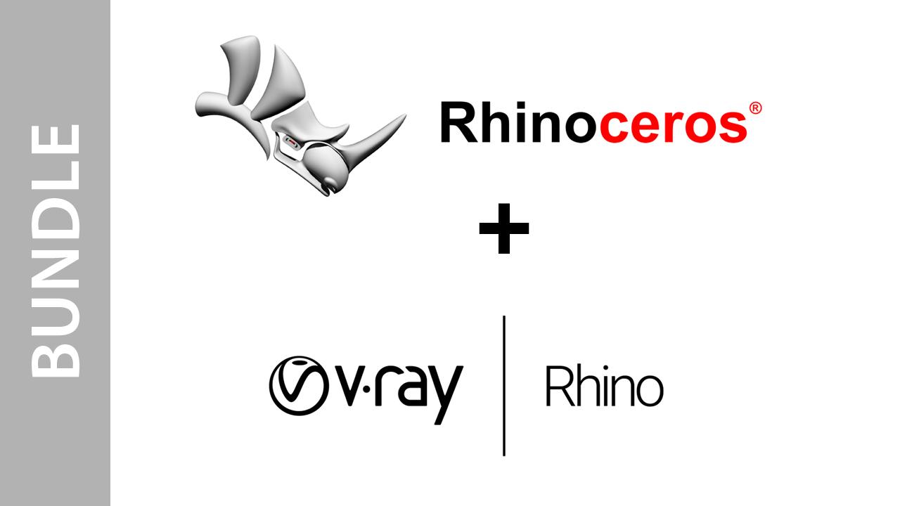 Rhinoceros (Single User) + V-Ray Next for Rhino - Bundle