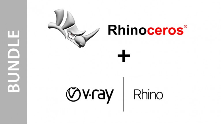 Rhinoceros (Single User) + V-Ray Next for Rhino - Bundle
