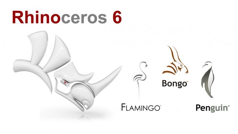 McNeel - Rhino 6 + Flamingo + Penguin + Bongo Bundle