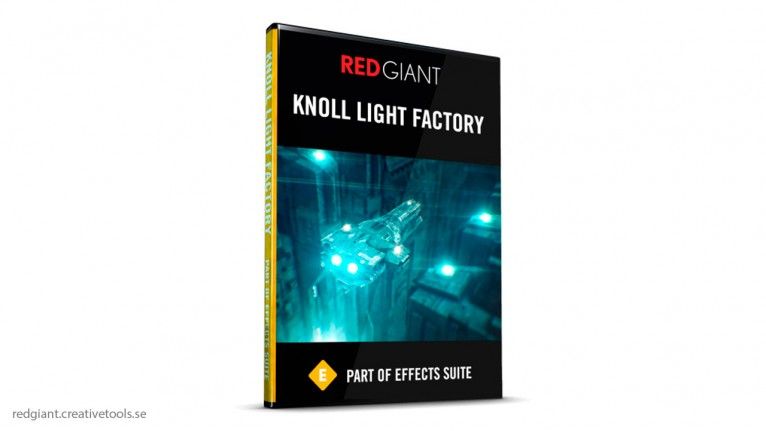 Red Giant - Knoll Light Factory 3