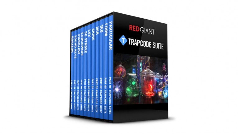 Red Giant - Trapcode Suite 15 - Upgrade from any previous version