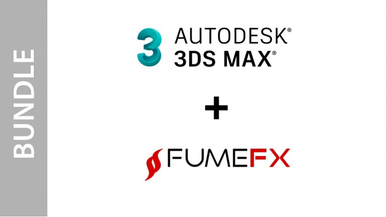 Autodesk 3ds Max + FumeFX for Max - Bundle