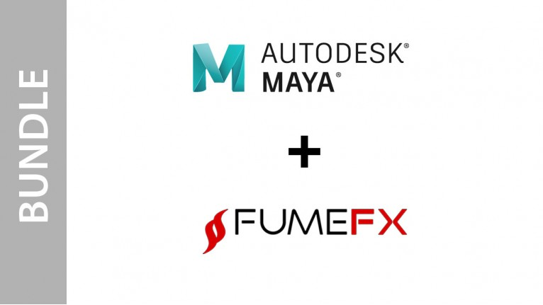 Autodesk Maya + FumeFX for Maya - Bundle